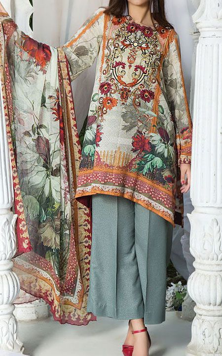 dba10b480b14 Branded Pakistani Winter Collections 2018 | 786Shop.com