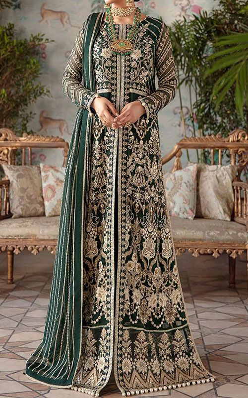 Buy Pakistani Designer Chiffon Dresses