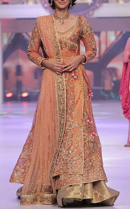 Bridal dress in Pakistan