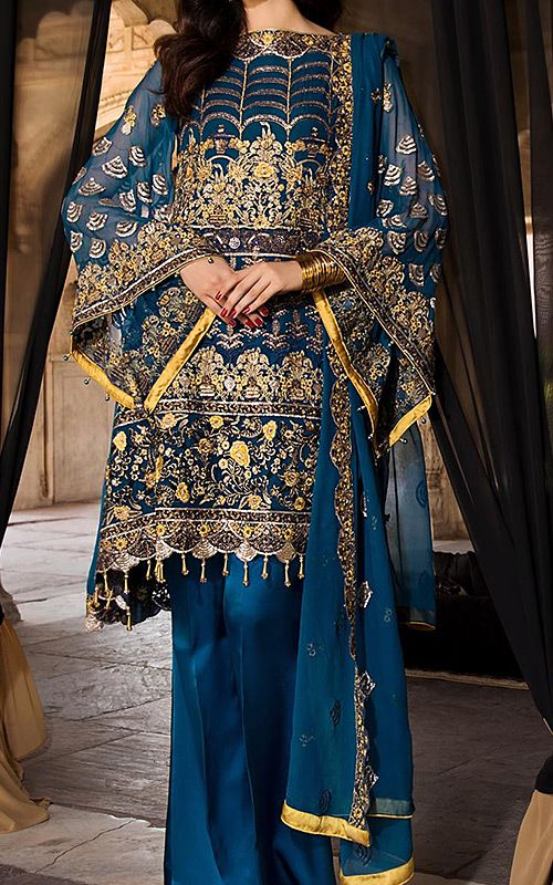Paksitani Party wear chiffon dresses