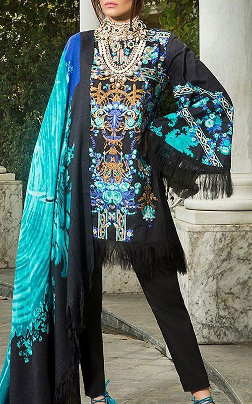Pakistani winter suits