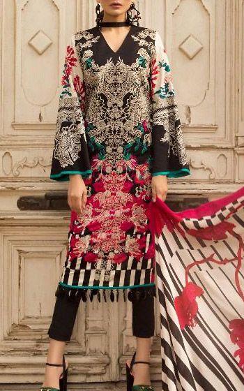 e3fdcabb6c Sana Safinaz New Muzlin and Winter Shawls Collections | 786Shop.com