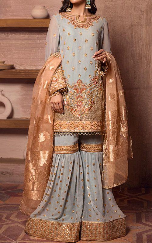 Pakistani Designer Chiffon Dresses
