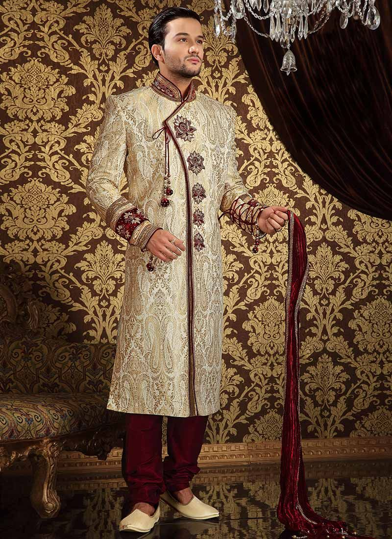 Various Types of Sherwani Suits for Groom- 786Shop.com