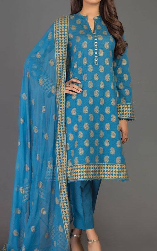 Pakistani designer winter dresses