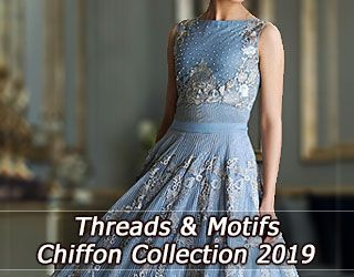Threads and Motifs Chiffon Collection