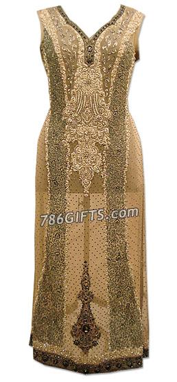Grey Crinkle Chiffon Suit | Pakistani Dresses in USA