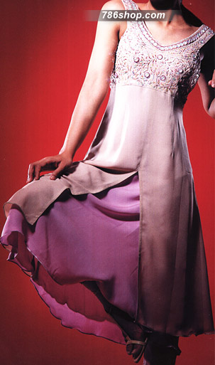 Purple Chiffon Suit | Pakistani Party and Designer Dresses in USA