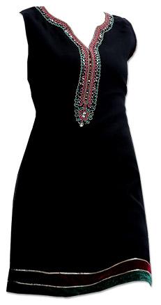 Black Georgette Kurti | Pakistani Dresses in USA