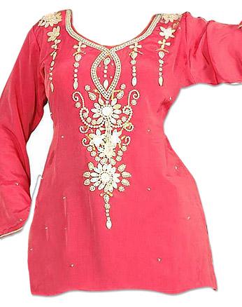 Pink Cotton Kurti    Pakistani Dresses in USA