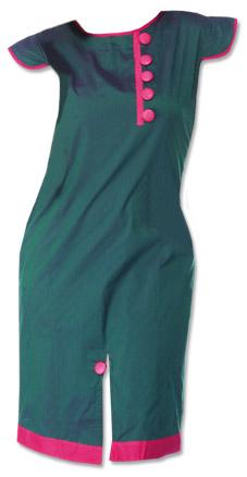 Teal Georgette Kurti  | Pakistani Dresses in USA