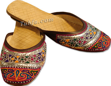 Sherwani Khussa Shoes Blue Size