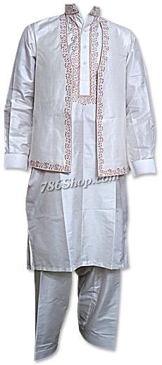 Silk Waistcoat Suit  | Pakistani Dresses in USA