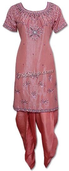 Peach Organza Suit    Pakistani Dresses in USA