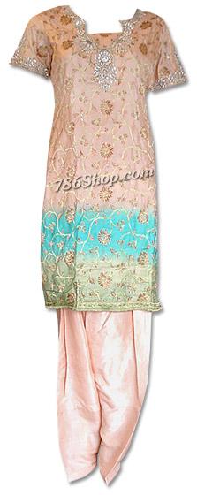 Peach Jamawar Suit | Pakistani Dresses in USA