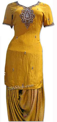 Mustard Grip Suit | Pakistani Dresses in USA
