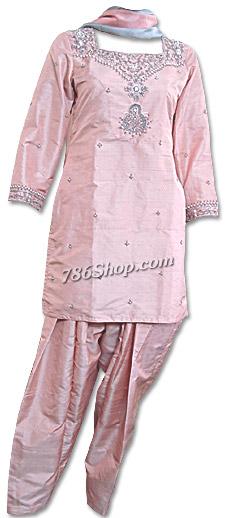 Peach Silk Suit | Pakistani Dresses in USA