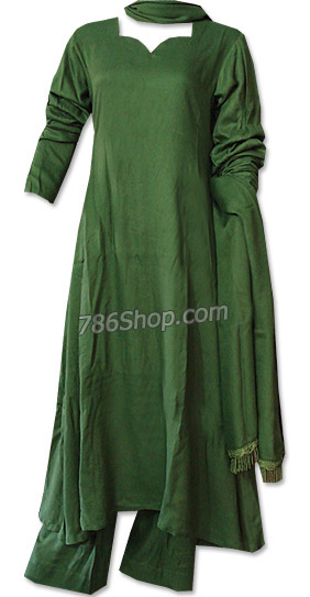 Green Marina Suit | Pakistani Dresses in USA