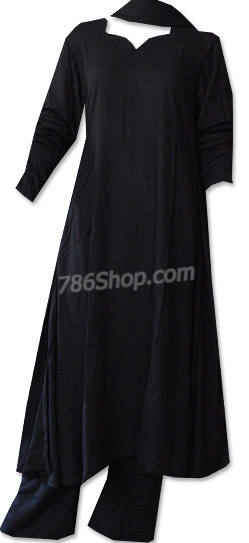 Black Marina Suit | Pakistani Dresses in USA