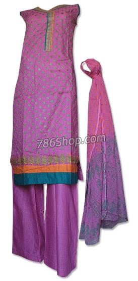 Purple Cotton Lawn Suit | Pakistani Dresses in USA