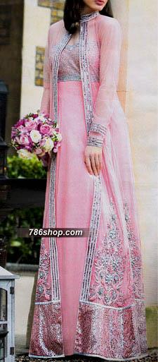 Baby Pink Crinkle Chiffon Suit Buy Pakistani Indian