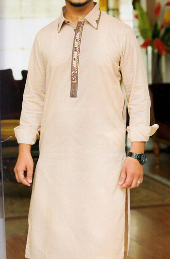 Light Peach Shalwar Kameez | Pakistani Dresses in USA