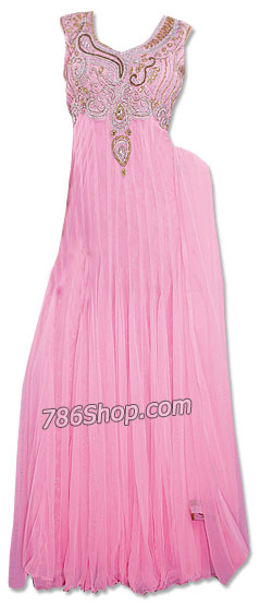 Light Pink Chiffon Suit | Pakistani Dresses in USA