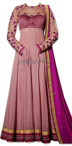 Tea Pink Chiffon Suit | Pakistani Dresses in USA
