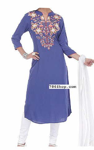 Blueberry Georgette Suit | Pakistani Dresses in USA
