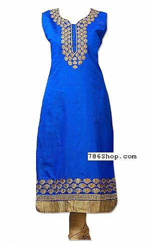 Blue Georgette Suit | Pakistani Dresses in USA