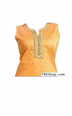 Golden Georgette Suit | Pakistani Dresses in USA
