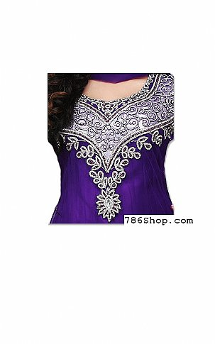 Indigo Net Suit | Pakistani Dresses in USA