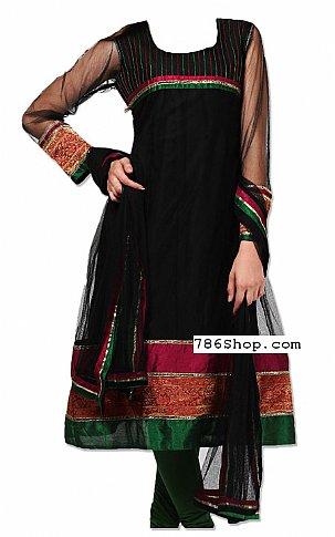 Black Net Suit | Pakistani Dresses in USA