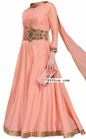 Peach Georgette Suit | Pakistani Dresses in USA