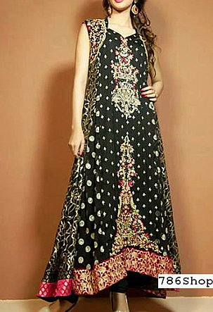 Bottle Green Chiffon Suit | Pakistani Party and Designer Dresses in USA