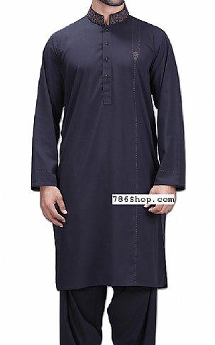 c399145981 Home Mens DressesMen's shalwar KameezNavy Blue Men Shalwar Kameez