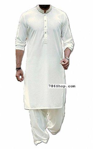 f8d54968dc Home Mens DressesMen's shalwar KameezWhite Men Shalwar Kameez Suit