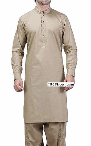 beige men shalwar kameez suit buy pakistani indian