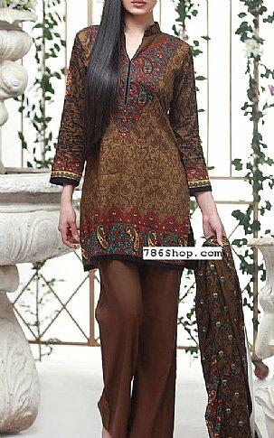 f4ac299081d1 HomeWomens DressesChocolate Lawn Suit