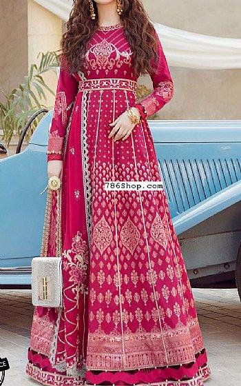 Hot Pink Lawn Suit | Pakistani Lawn Suits