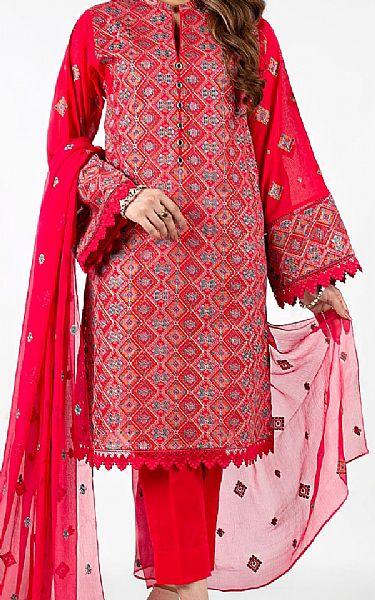 Scarlet Lawn Suit   Pakistani Lawn Suits
