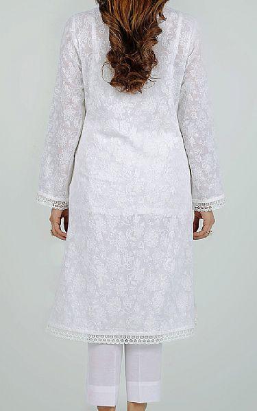 White Lawn Suit | Pakistani Lawn Suits