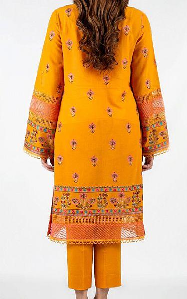 Mustard Lawn Suit | Pakistani Lawn Suits