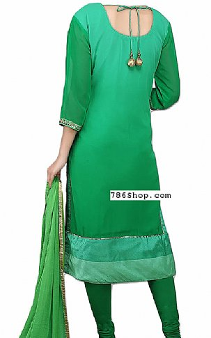Green Chiffon Suit | Pakistani Dresses in USA