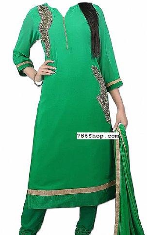 Sea Green Chiffon Suit | Pakistani Dresses in USA