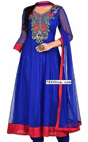 Blue Chiffon Suit | Pakistani Dresses in USA