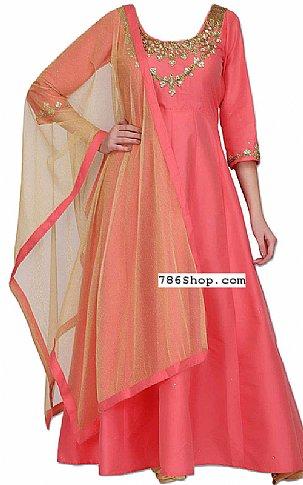 Pink Silk Suit | Pakistani Dresses in USA