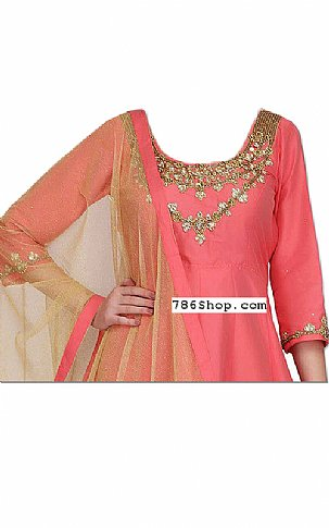 Pink Silk Suit | Pakistani Dresses in USA