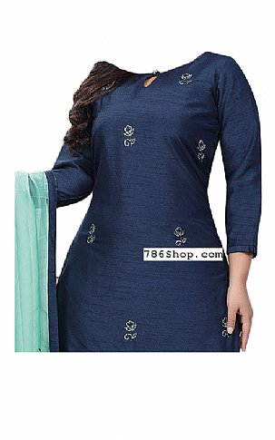 Navy Blue Georgette Suit | Pakistani Dresses in USA