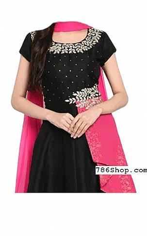 Black Georgette Suit | Pakistani Dresses in USA